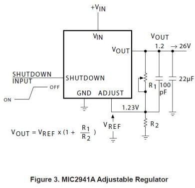 Datasheet example circuit