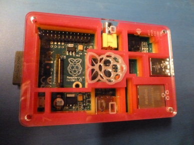 The PiBow Case for my Raspberry Pi is finished