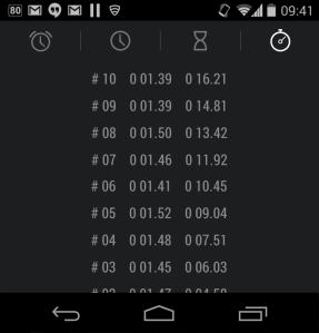 testing timer